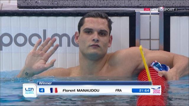 Facile comme Manaudou : il a survolé sa demie du 50
