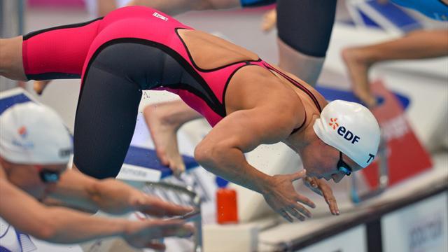 Charlotte Bonnet en bronze sur 200 m nage libre