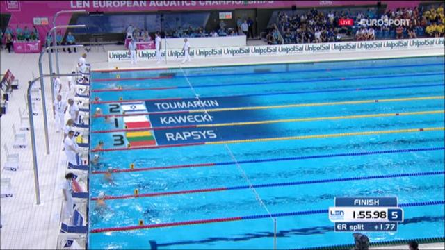 Kawecki claims 200m backstroke victory at European Swimming Championships