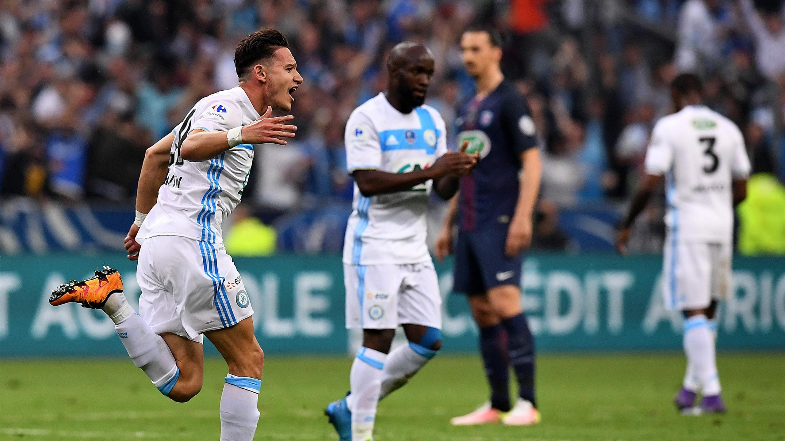 Florian Thauvin a relancé l'OM en finale de la Coupe de France