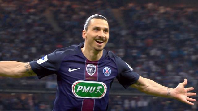 Olympique de Marsella-PSG: Dos goles de Ibra para despedir un año con tres títulos (2-4)