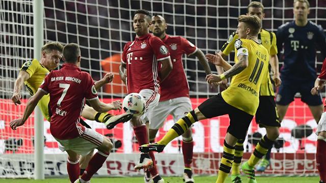 Le Bayern Munich et Dortmund disputent la séance des tirs au but