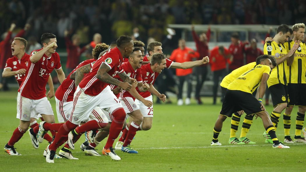 Dfb Pokal Finale Fc Bayern Setzt Sich Im Elfmeterschießen Gegen