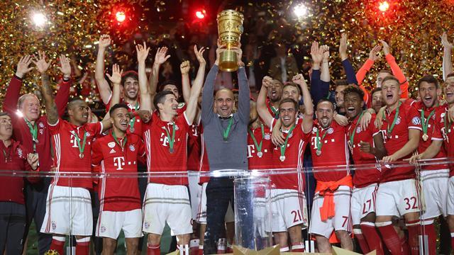 Bayern Múnich-Borussia Dortmund: Pep se despide con un doblete (0-0/4-3)
