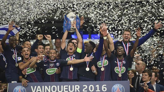 Une dixi me coupe de france et un nouveau quadrupl le triomphe du psg est total coupe de - Coupe de france 2014 2015 ...