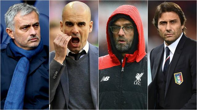 Mourinho, Guardiola, Conte, Klopp : la saison prochaine, les stars seront sur le banc