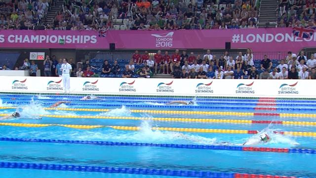 Kapas clinches gold in 400m freestyle