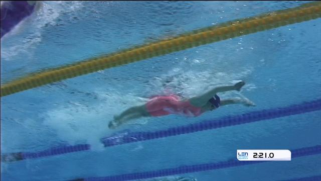 Great Britain clinch 4x100m individual medley