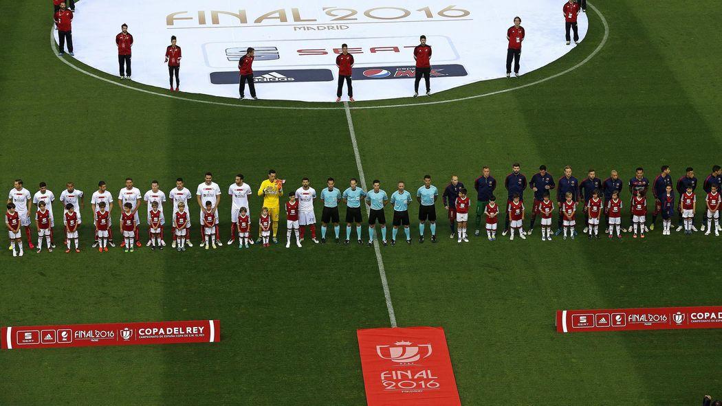 selección especial de últimos diseños diversificados muchos estilos Final Copa Rey 2018: Sevilla-Barcelona: Hora y dónde ver hoy ...