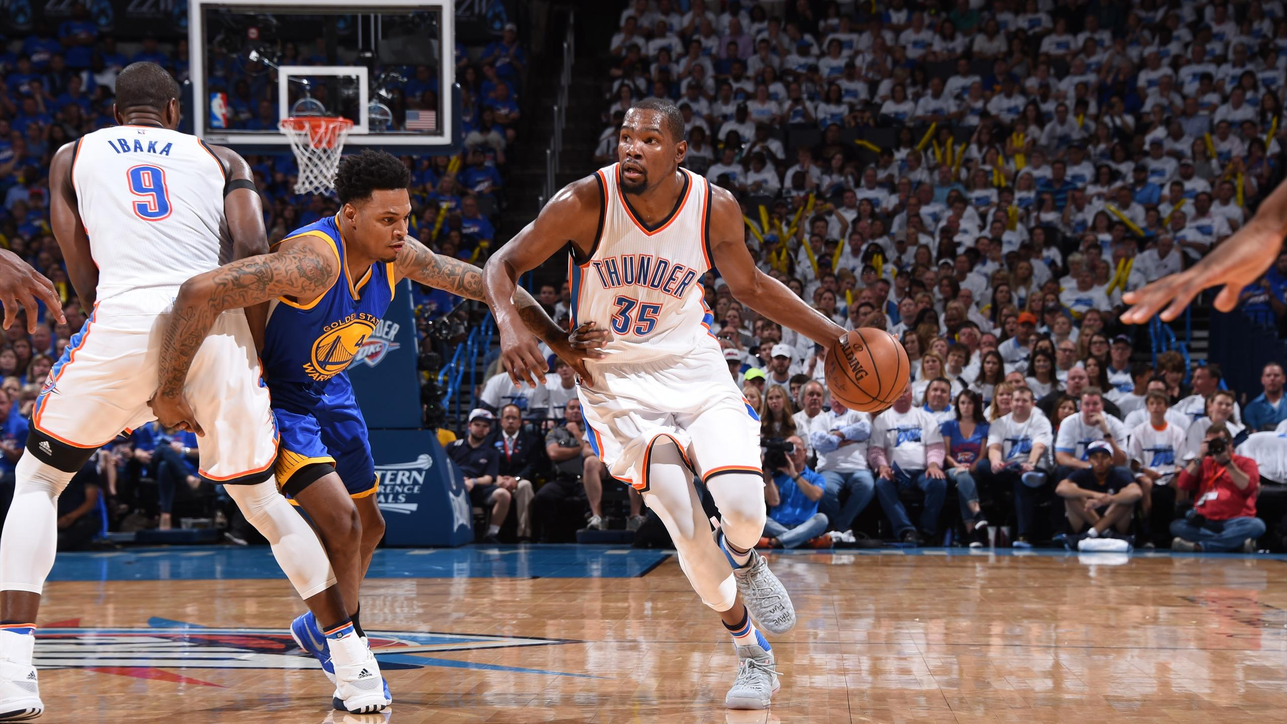 Kevin Durant und Oklahoma City Thunder schlagen Golden State Warriors
