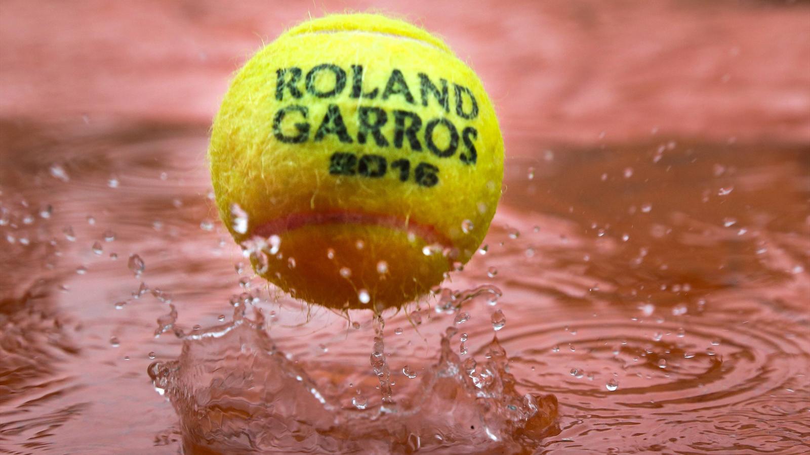 Roland Garros 2016: Aplazada toda la jornada por la lluvia en París - Roland Garros Masculino ...