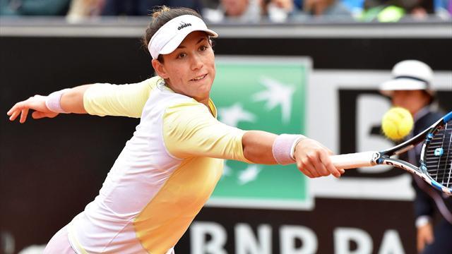 Roland Garros 2016, Top 5: El puntazo al que se sobrepuso Garbiñe Muguruza