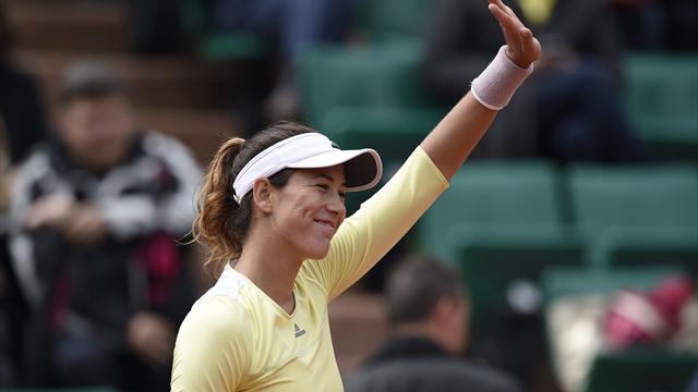 Roland Garros 2016, Schmiedlova-Muguruza: Un comienzo frío (6-3, 3-6 y 3-6)