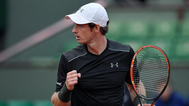 Murray holds his nerve to beat Stepanek in dramatic five-setter