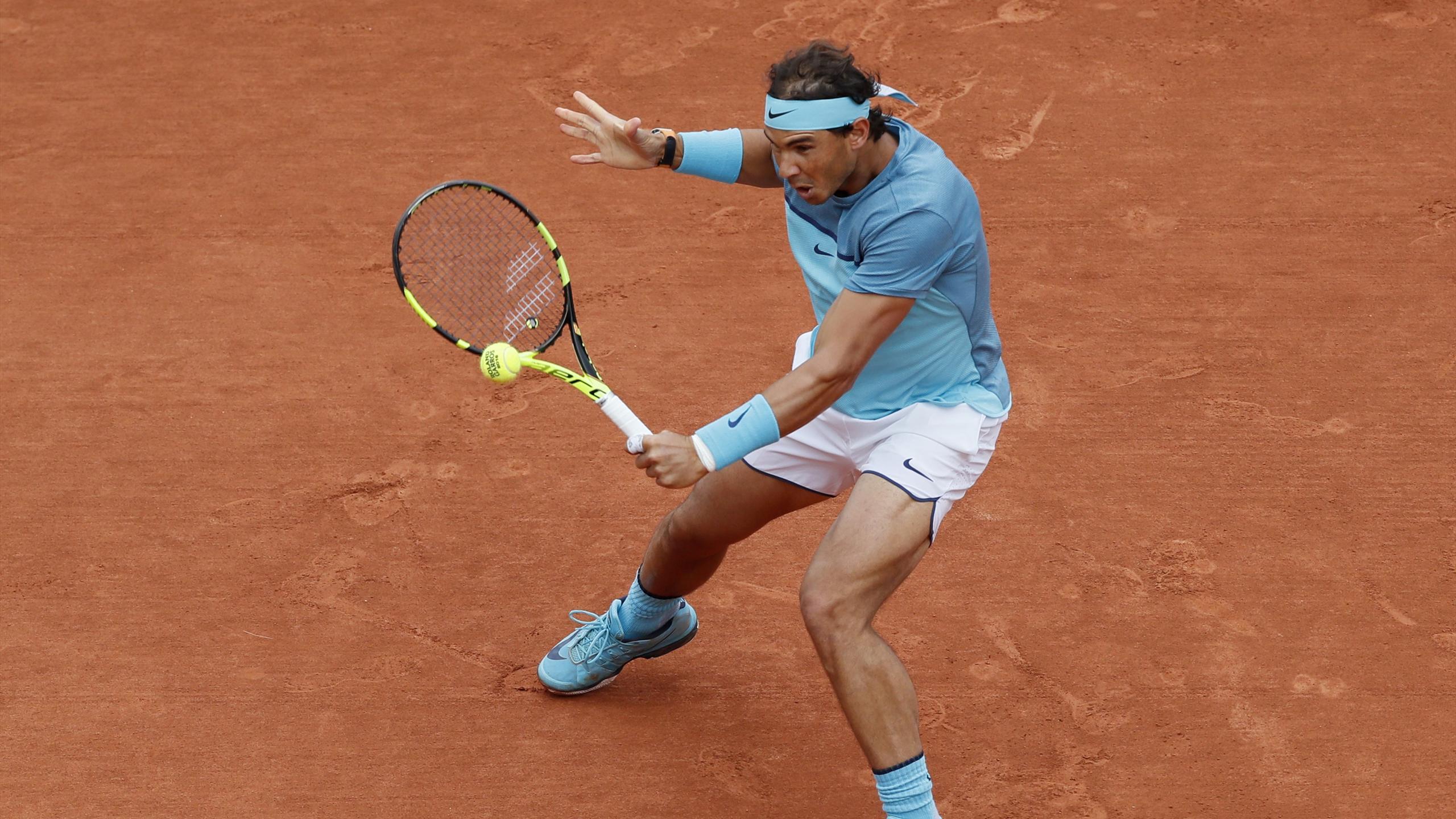 Tennis - French Open - Roland Garros - Rafael Nadal of Spain vs Sam Groth of Australia - Paris, France - 24/05/16.