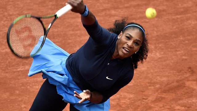 42 minutes pour son 1er tour : c'était le Serena express