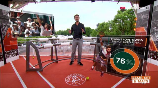 """The Coach: """"Wawrinka ha vinto il Roland Garros grazie al suo servizio"""""""