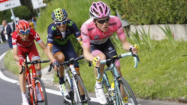 Oranjegekleurde Giro d'Italia live en exclusief bij Eurosport