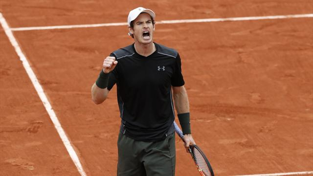 Mathias Bourgue v Andy Murray: French Open LIVE