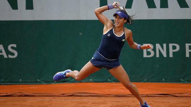 Former champion Kuznetsova ends struggling Watson's hopes