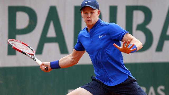 Edmund bows out in second round to Isner