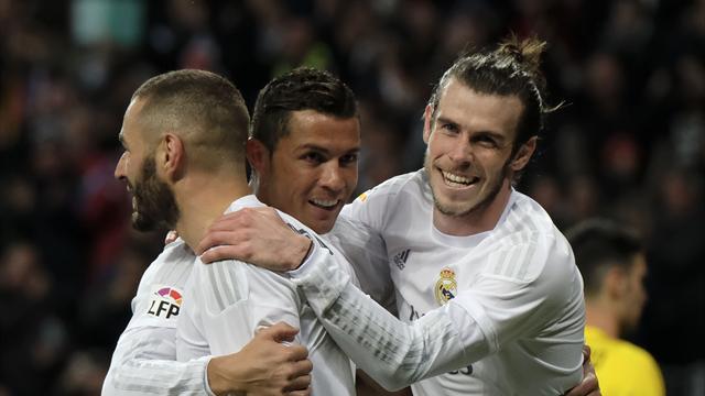 Le Real Madrid sans sa BBC à Gijon