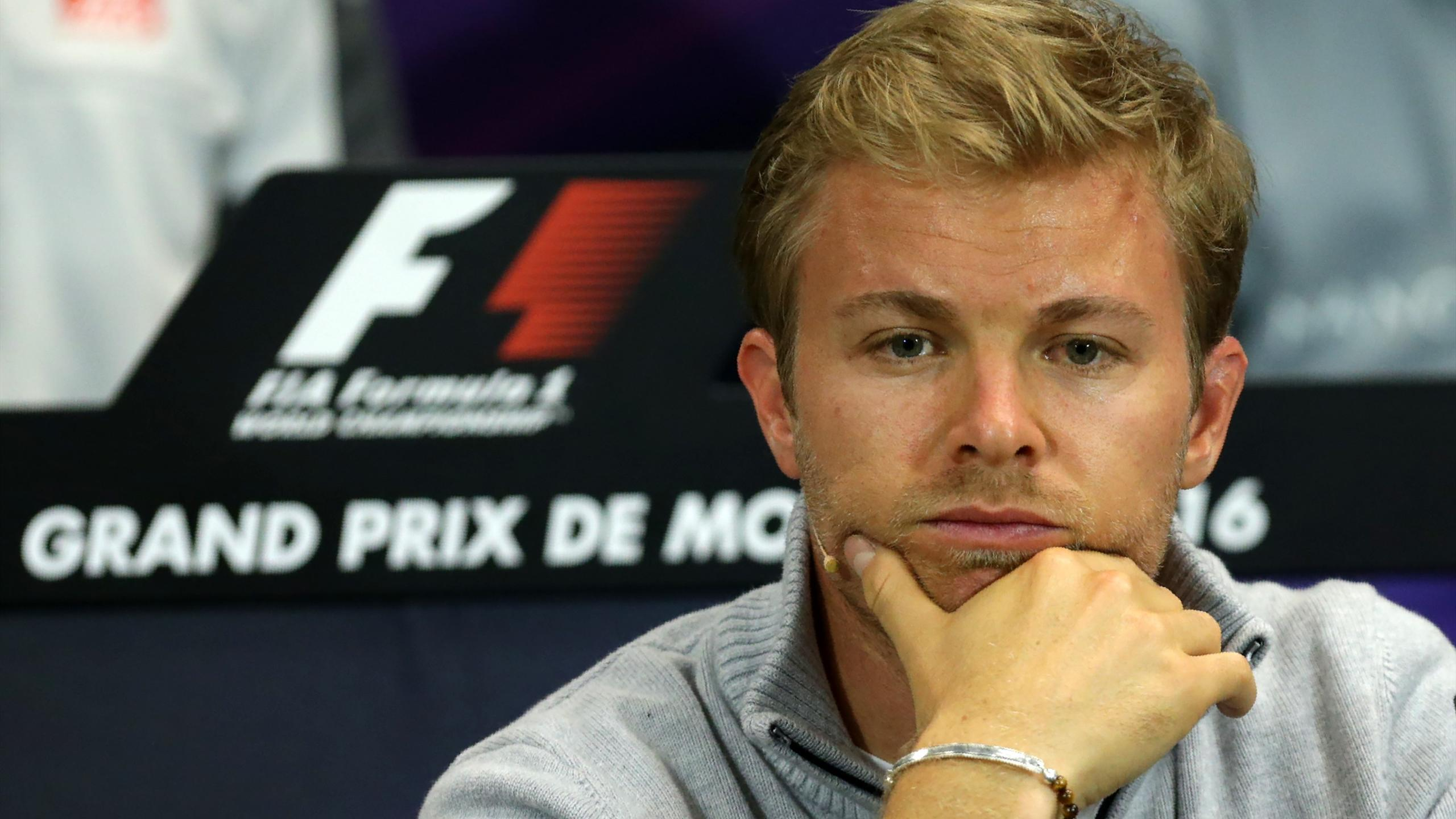 Nico Rosberg (Mercedes) lors du Media Day à Monaco