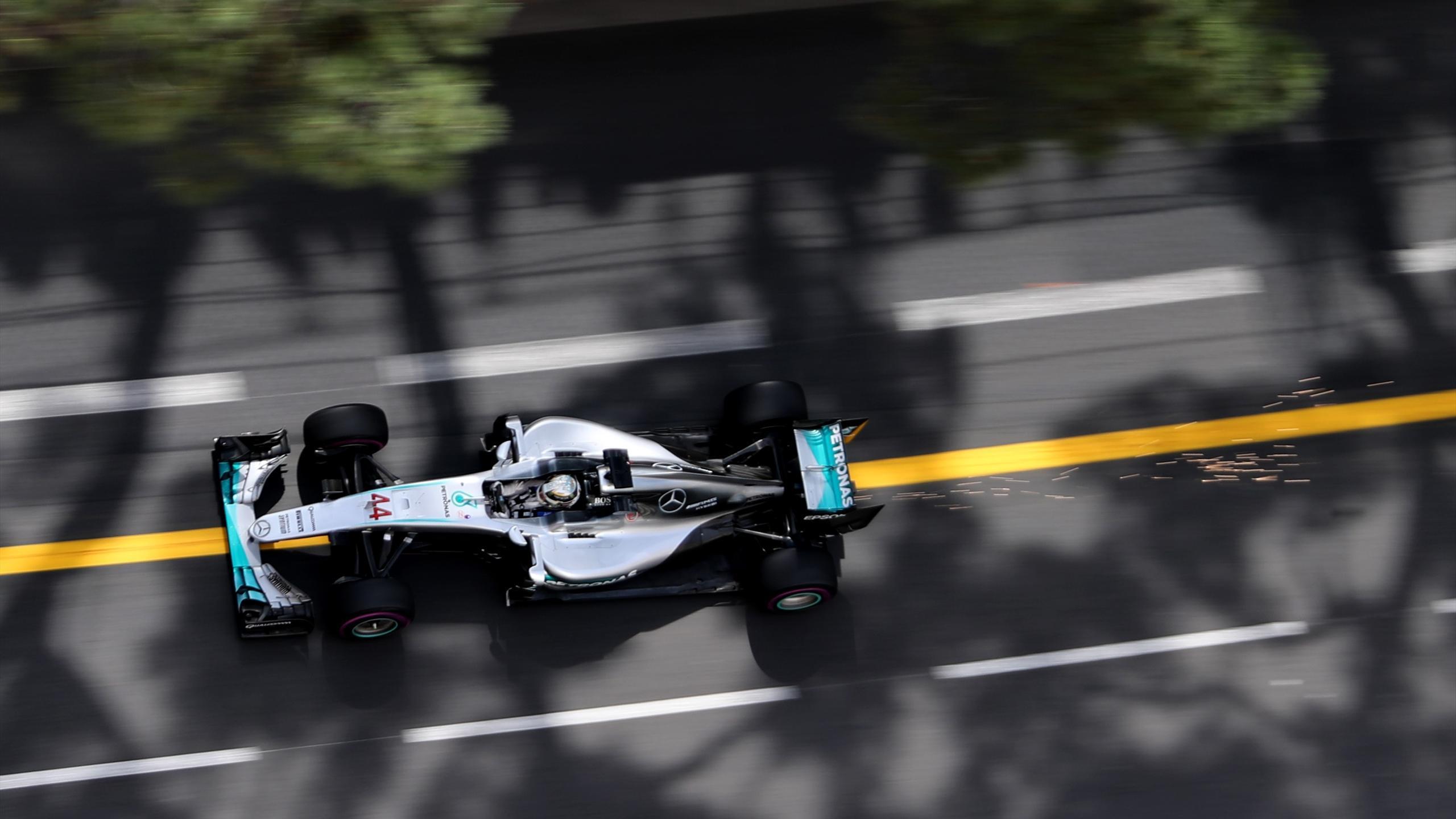 Lewis Hamilton (Mercedes) au Grand Prix de Monaco 2016
