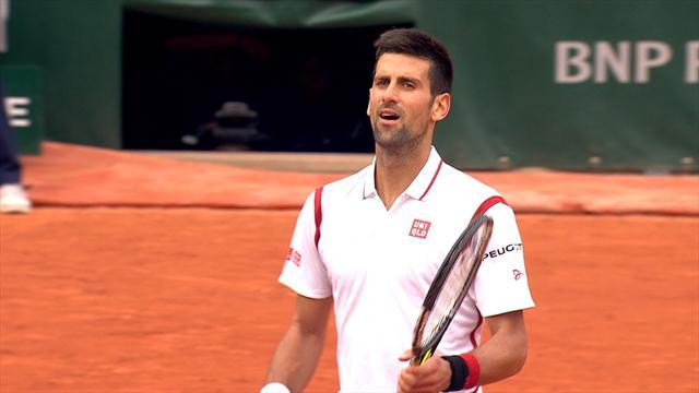 Highlights: Djokovic overcomes Darcis to make round three