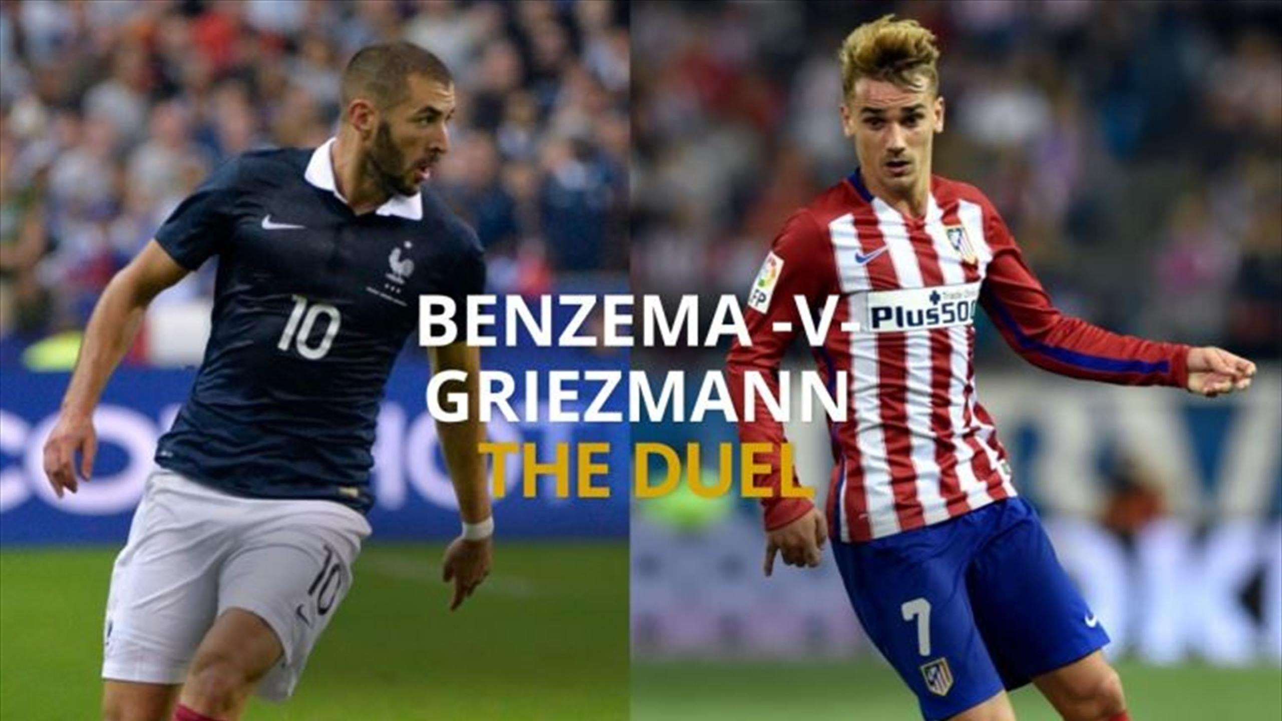 Benzema vs Griezmann - The Duel: Champions League final 2015/16