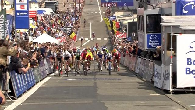 Huge pile-up causes carnage at Tour of Belgium