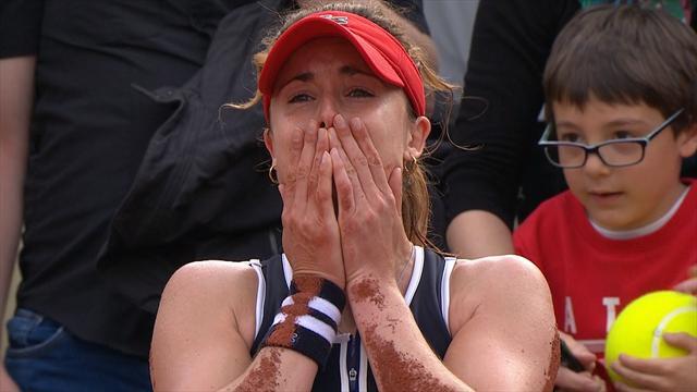 French Open: Maria unterliegt im Dreisatzkrimi