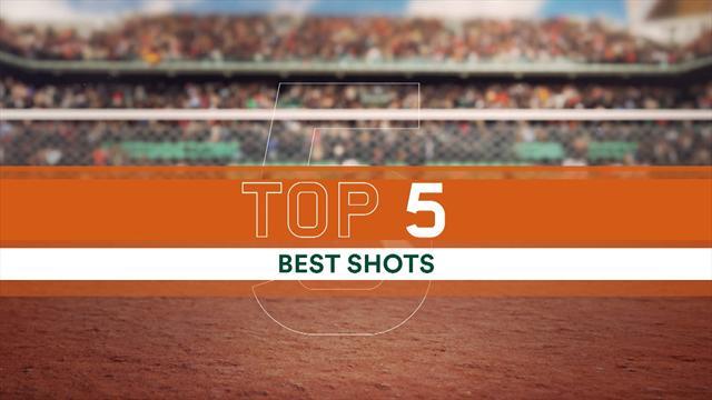 Le Top 5 de jeudi : Bautista Agut a tout fait à PHM