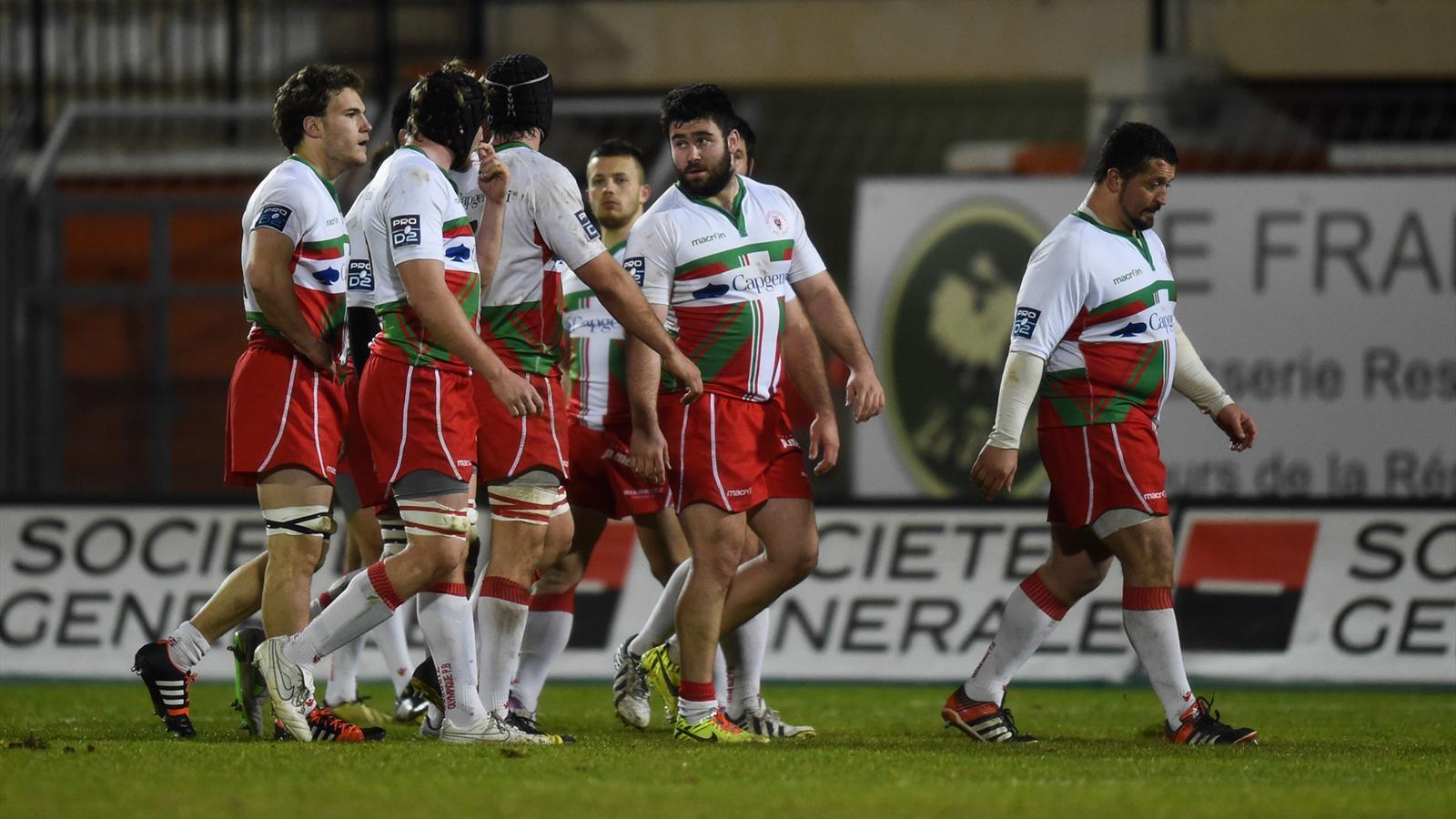Biarritz rlégué en Fédérale 1 !