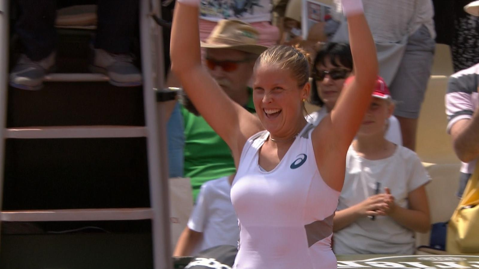 Video highlights world number 108 shelby rogers beats - University league tables french ...