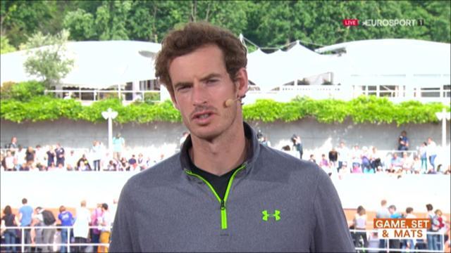 Murray sur le forfait de Nadal : «Je savais qu'il avait un problème au poignet gauche»
