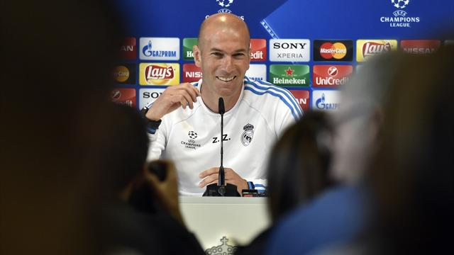 Zidane : «Il faudra courir, courir et courir»