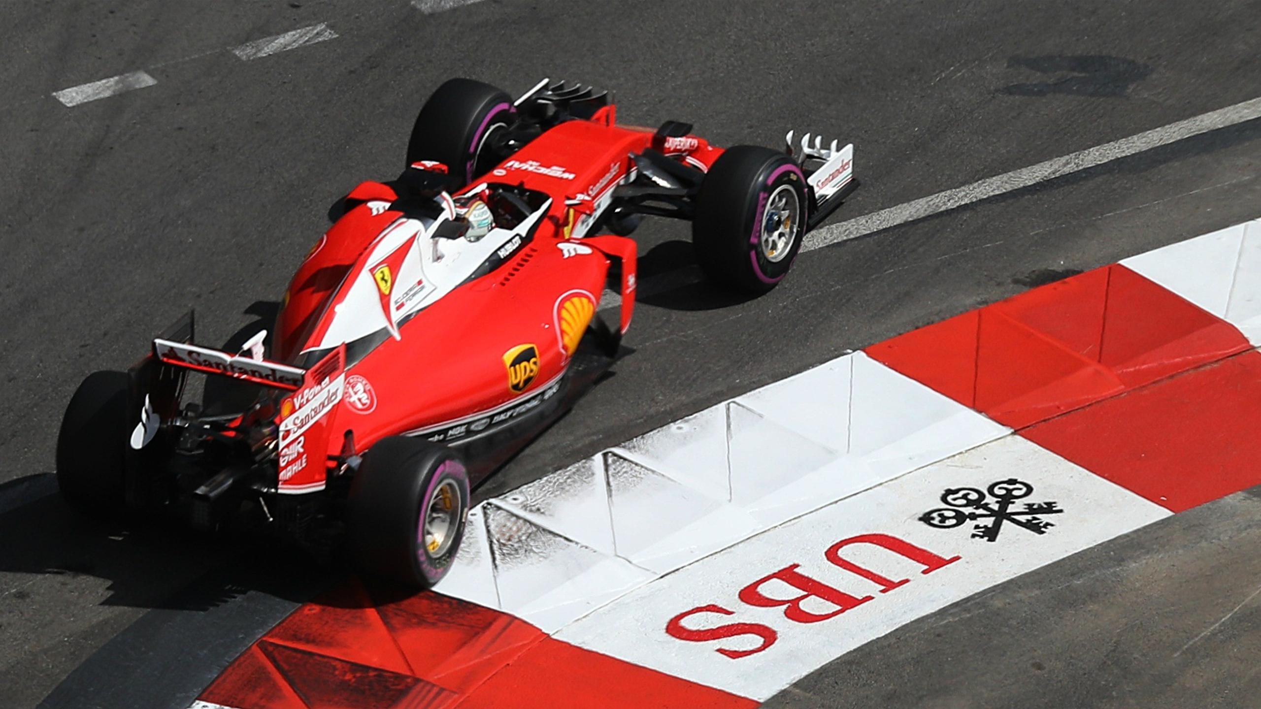 Sebastian Vettel (Ferrari) - GP of Monaco 2016