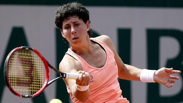Roland Garros 2016, Suárez-Cibulkova: Sufrir sin dejar de avanzar (6-4, 3-6 y 6-1)