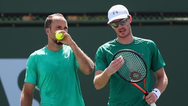 Players aren't robots, says Murray's double partner Soares