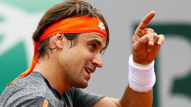 Roland Garros 2016, Ferrer-López: Contundente y en octavos (6-4, 7-6 y 6-1)