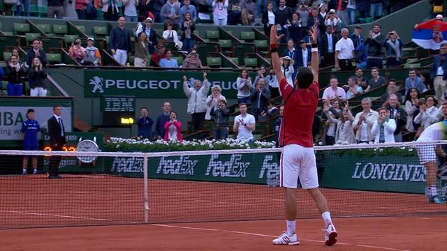 Roland Garros 2016: Revive el trabajado triunfo de Djokovic