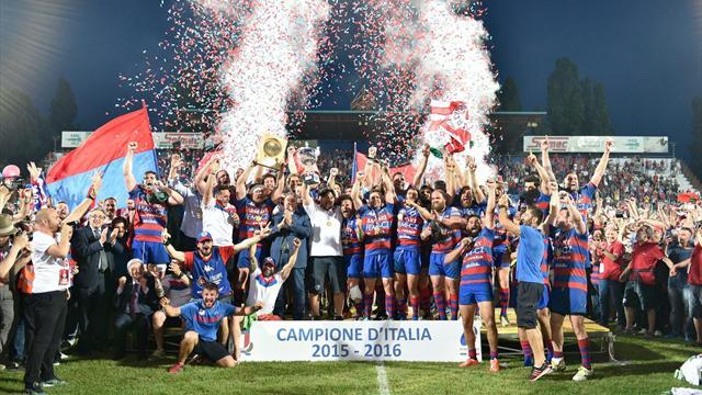 Rovigo vince il suo 12° scudetto: 20-13 contro Calvisano in finale