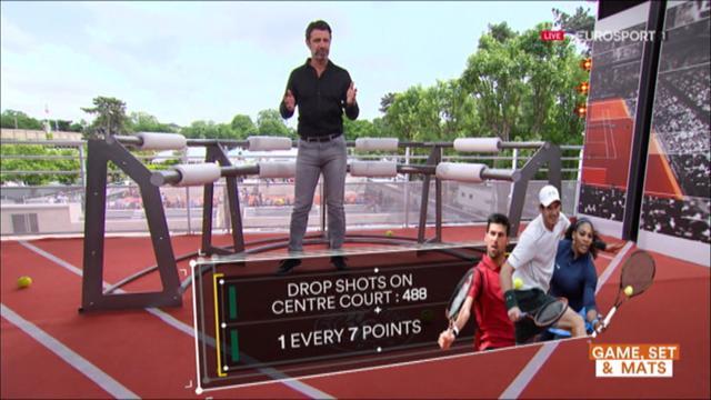 The Coach: La dejada brilla entre los mejores tenistas de Roland Garros 2016