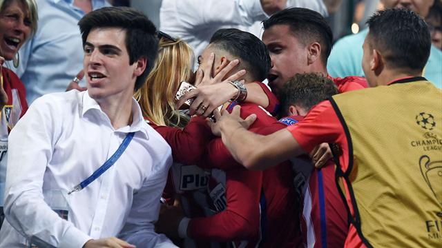 Carrasco avait envoyé l'Atlético en prolongations et célébré son but par un bisou