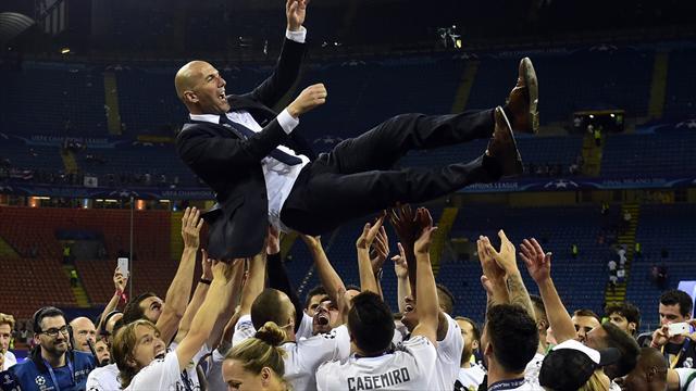 «Hala Madrid !» : Zidane, héros des socios du Real