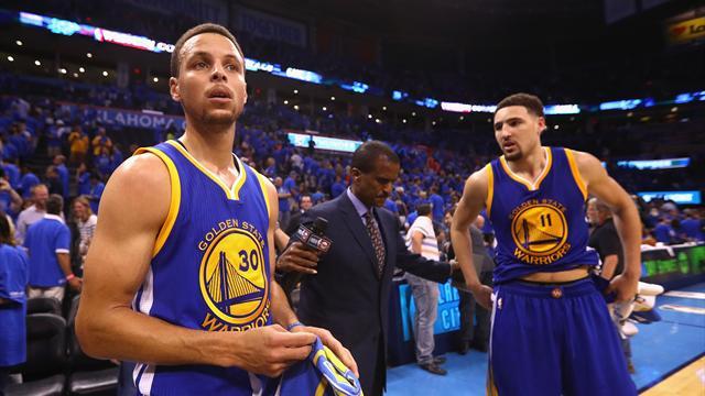 Curry&Thompson yedinci maç dedi