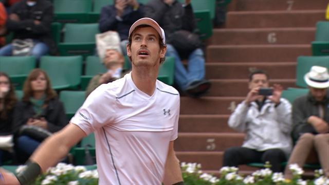 Tennis : Murray aime les grands serveurs, �a s'est encore vu face � Isner
