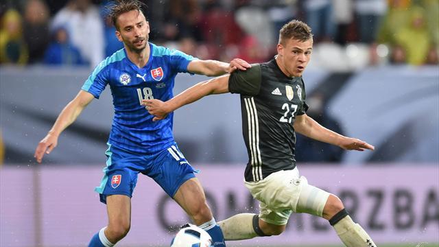 L'Allemagne coule face à la Slovaquie