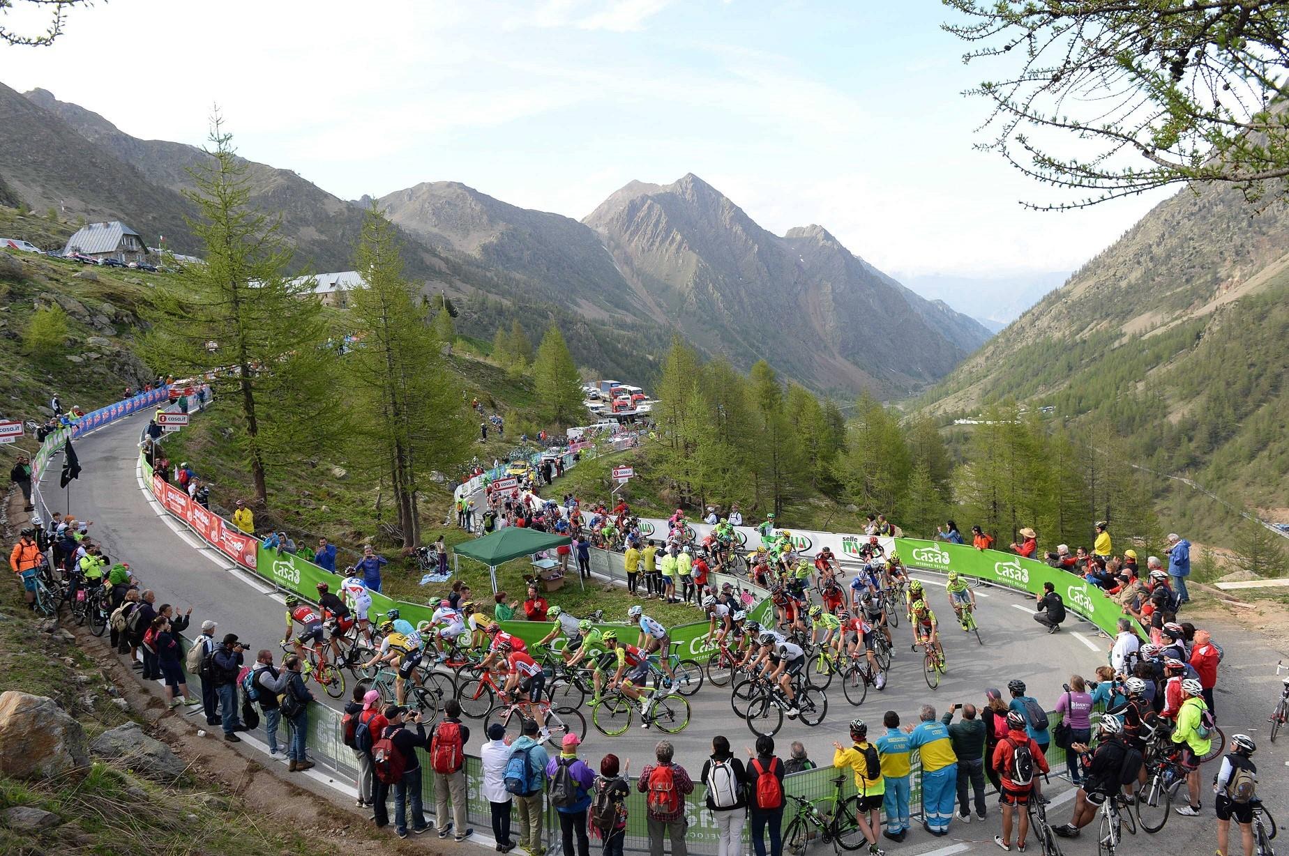 Giro d'Italia Sant Anna di Vinadio